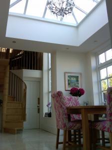 Interior of rear garden room