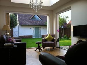 Rear extension garden studio and interiors