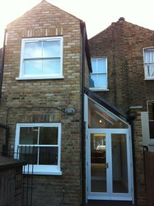 Two storey rear extension - terrace house Bow